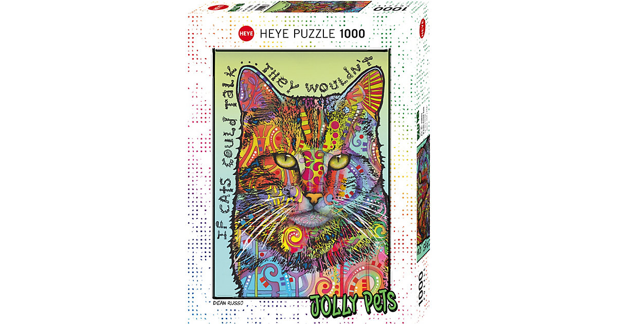 Puzzle If Cats Could Talk,  1000 Teile von HEYE