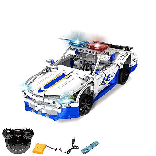 SMOBY No Limit Baukasten Polizei Fahrzeug Hubschrauber Auto Motorik 3 Fahrzeuge