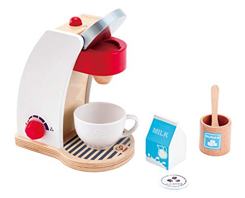 Hape E3146 Kaffeemaschine, Weiß von Hape International