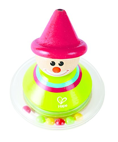 Hape E0015 Roly-Poly Ralph Toy (Multi-Colour) Holzspielzeug von Hape International