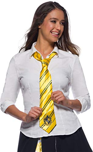 Harry Potter Adult Costume Neck Tie, Hufflepuff, One Size von Harry Potter