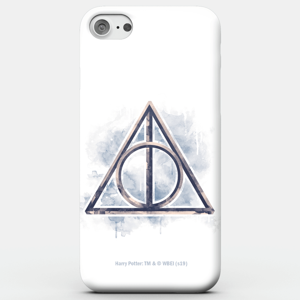 Harry Potter Phonecases Deathy Hallows Phone Case for iPhone and Android - iPhone X - Tough Hülle Matt von Harry Potter