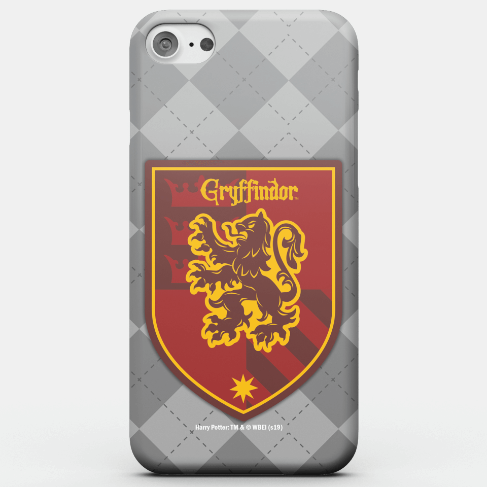 Harry Potter Phonecases Gryffindor Crest Phone Case for iPhone and Android - Samsung S6 Edge - Snap Hülle Matt von Harry Potter