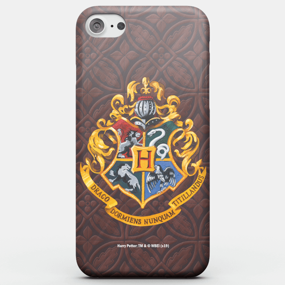 Harry Potter Phonecases Hogwarts Crest Phone Case for iPhone and Android - Samsung S6 Edge - Snap Hülle Glänzend von Harry Potter