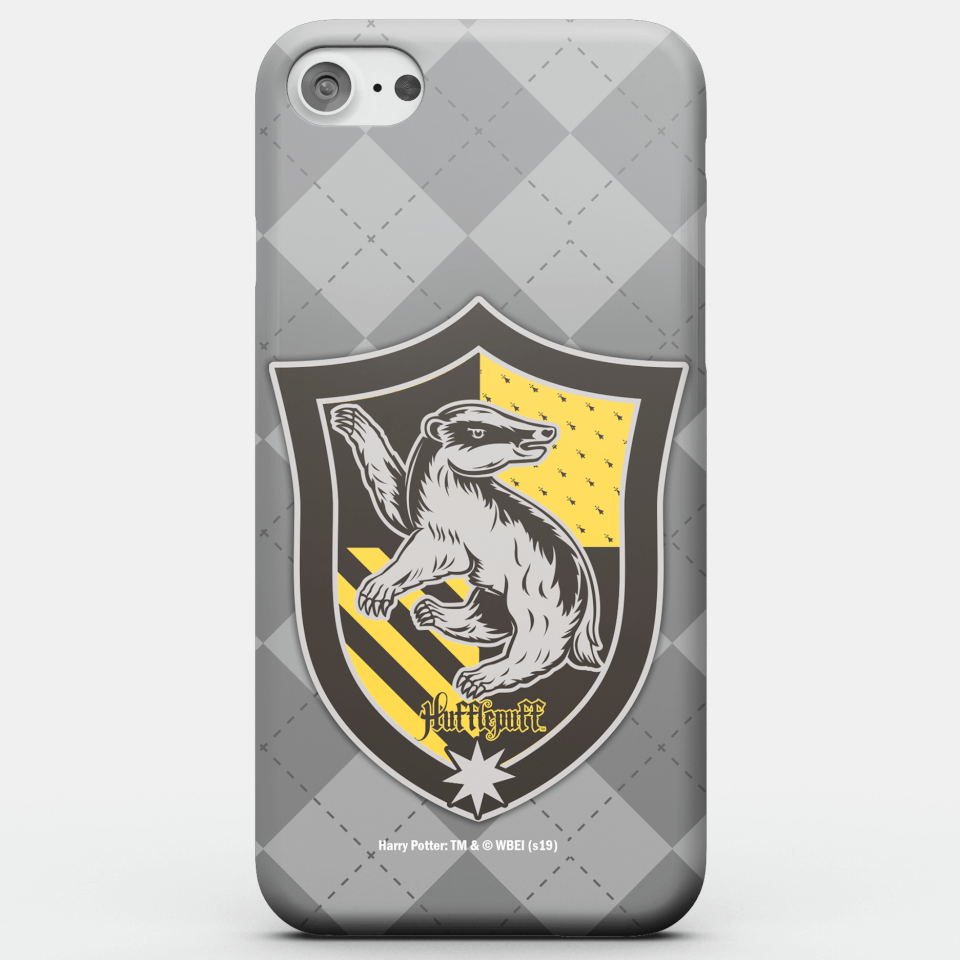 Harry Potter Phonecases Hufflepuff Crest Phone Case for iPhone and Android - iPhone 7 - Snap Hülle Matt von Harry Potter