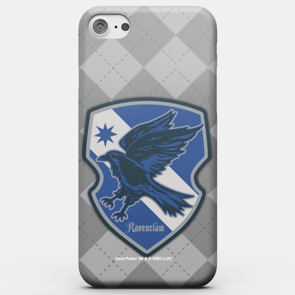Harry Potter Phonecases Ravenclaw Crest Phone Case for iPhone and Android - Samsung S6 - Snap Hülle Matt von Harry Potter