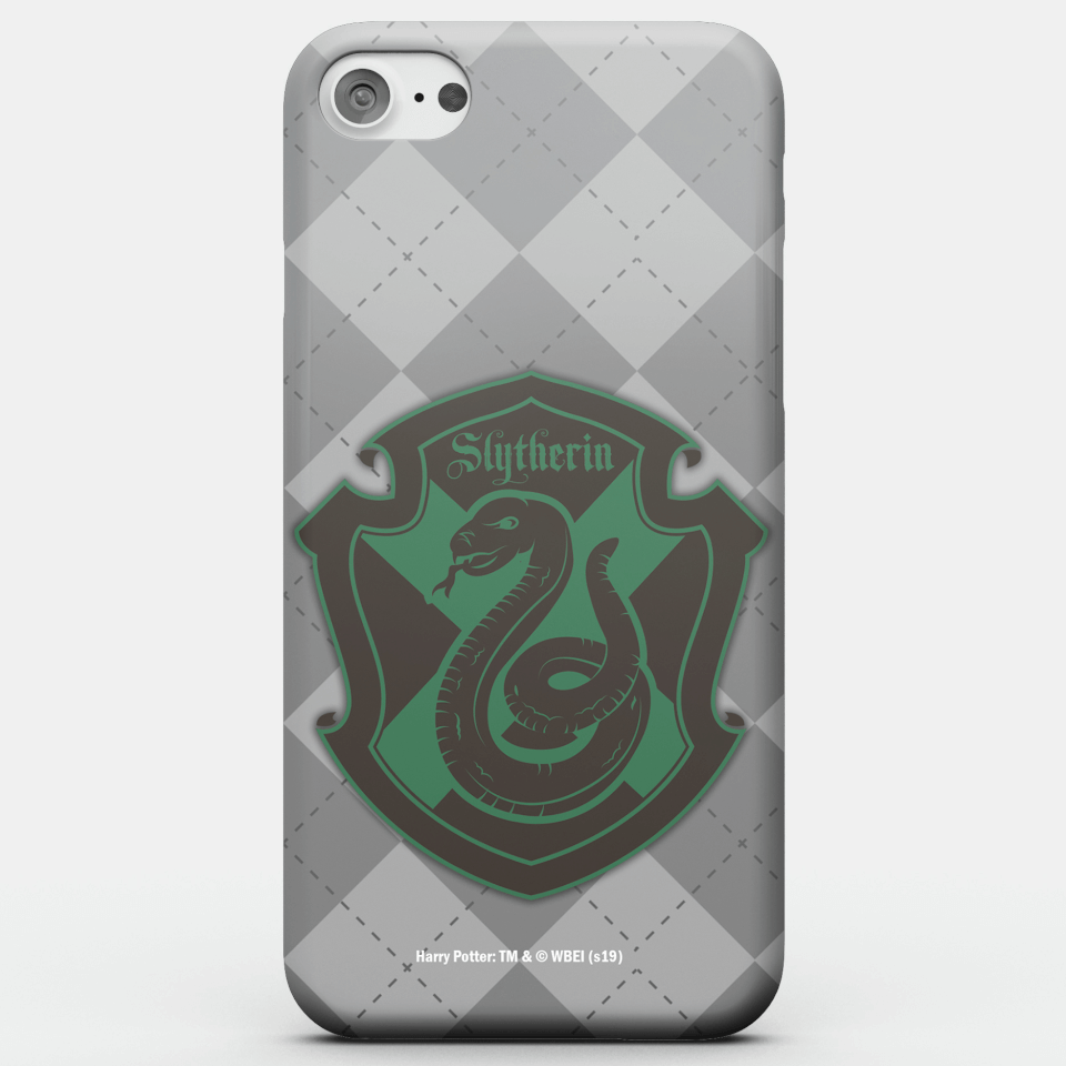 Harry Potter Phonecases Slytherin Crest Phone Case for iPhone and Android - Samsung S7 Edge - Snap Hülle Glänzend von Harry Potter