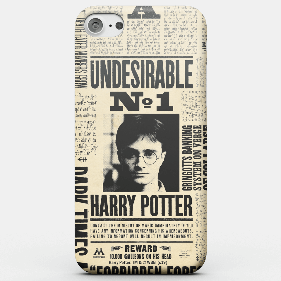 Harry Potter Phonecases Undesirable No. 1 Phone Case for iPhone and Android - iPhone 6S - Snap Hülle Matt von Harry Potter