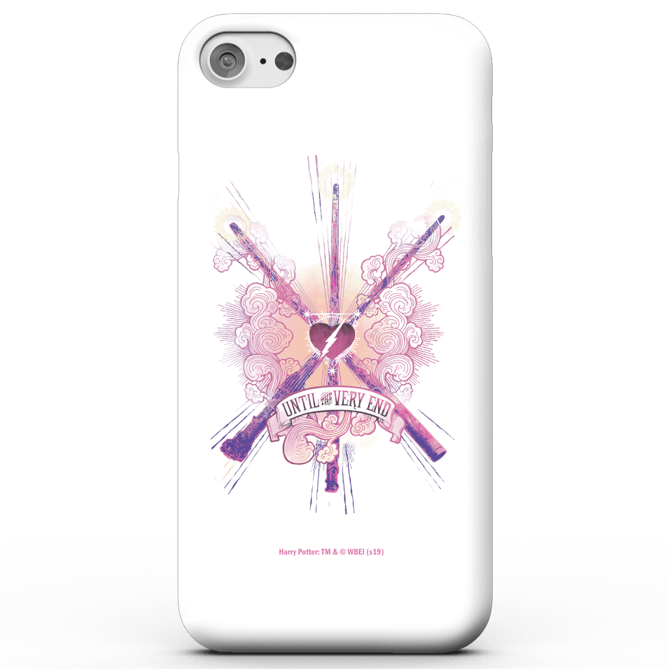 Harry Potter Until The Very End Phone Case for iPhone and Android - iPhone 6 - Snap Hülle Matt von Harry Potter