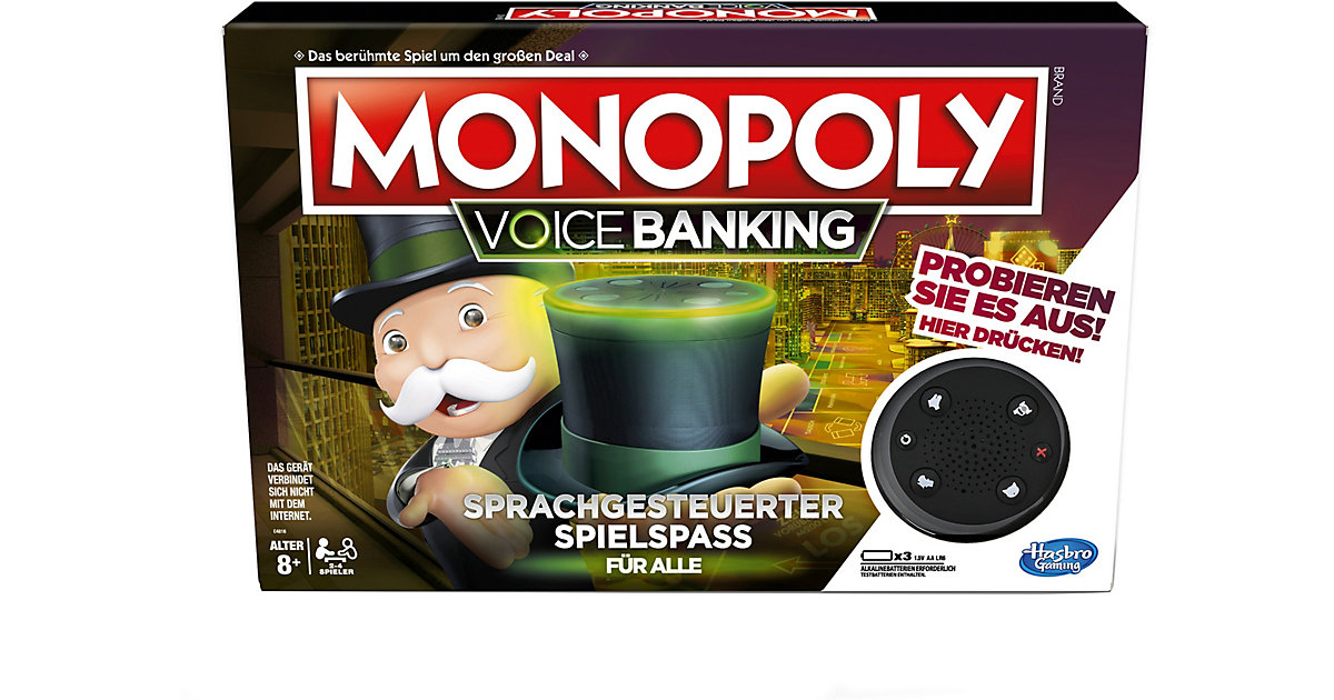 Monopoly Voice Activated Banking von Hasbro