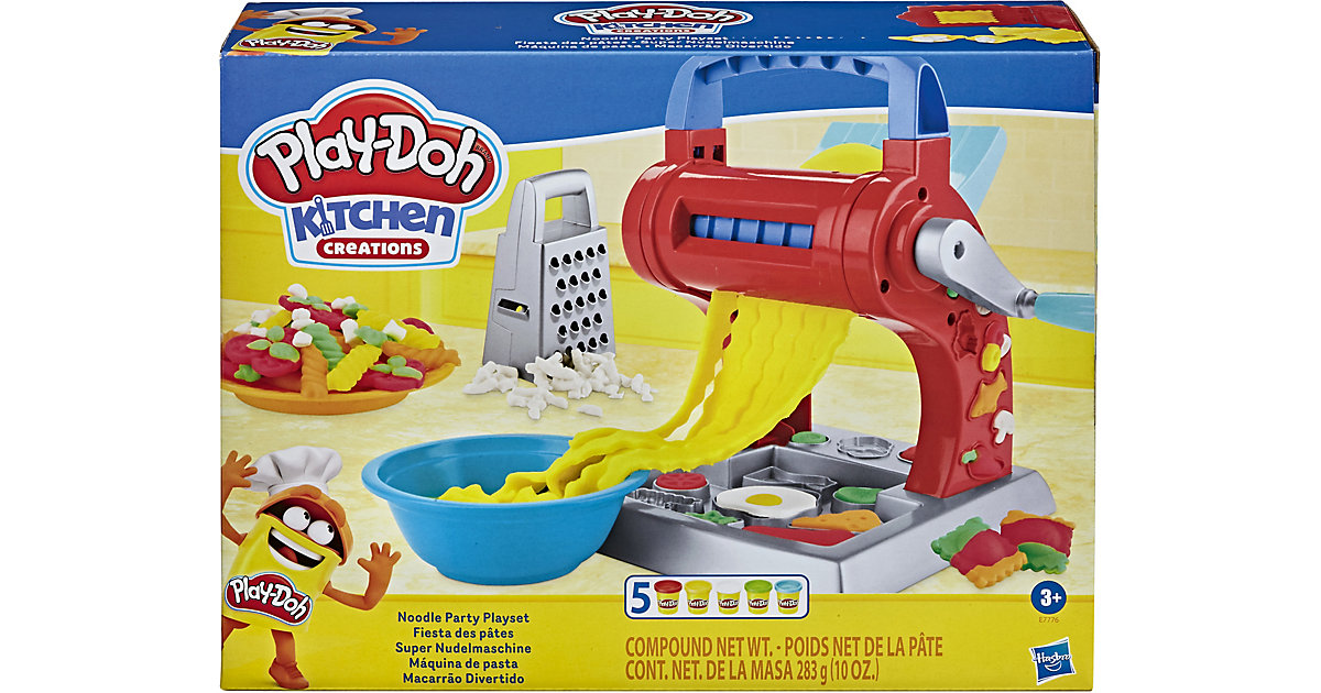 Play-Doh Kitchen Creations Super Nudelmaschine von Hasbro