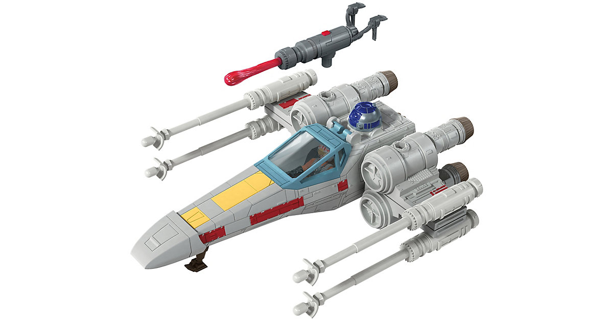 Star Wars Mission Fleet Luke Skywalkers X-Wing Fighter, 6cm von Hasbro