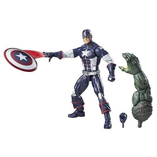 Marvel 6 Legends Serie Secret War Captain America von Marvel