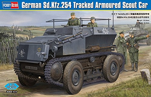 Hobby Boss 82491 Modellbausatz German Sd.Kfz.254 Tracked Armoured car von Hobby Boss
