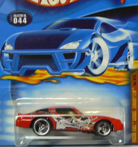Hot Wheels 2001 Fossil Fuels Series Camaro Z-28 4/4 #044 #44 RED 1:64 Scale von Hot Wheels