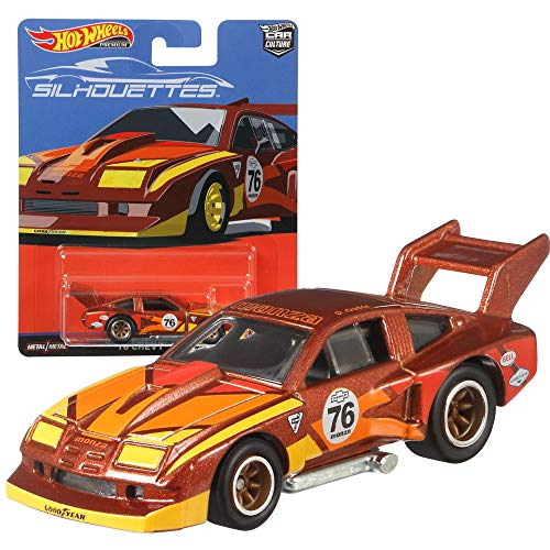 Hot Wheels Car Culture Super Silhouettes Premium Auto Set | Cars Mattel FPY86, Fahrzeug:'76 Chevy® Monza von Hot Wheels