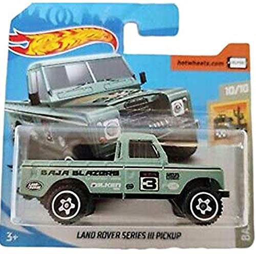 Hot Wheels Land Rover Series III Pickup Baja Blazers 10/10 2020 (003/250) Short Card von Hot Wheels