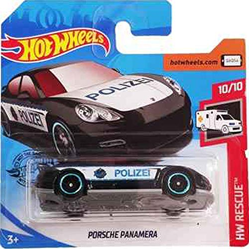 Hot Wheels Porsche Panamera HW Rescue 10/10 2019 (100/250) Short Card von Hot Wheels