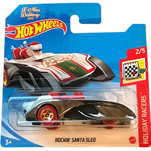 Hot Wheels Rockin' Santa Sled Holiday Racers 2/5 2021 (047/250) Short Card von Hot Wheels
