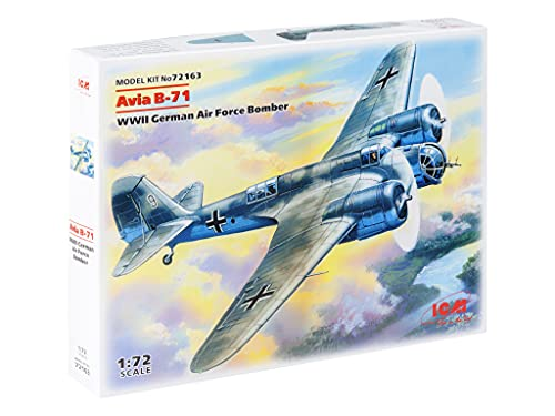 ICM 72163 - Avia B71, WWII German Air Force Bomber von ICM