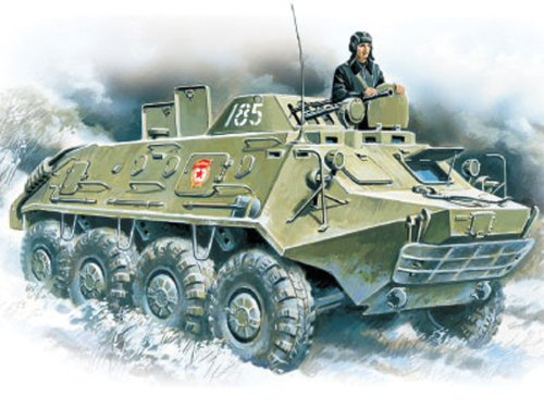 ICM 72911 - BTR-60 PB Armoured Personnel Carrier von ICM