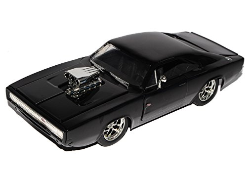 Dodge Charger R/T Dom´s Muscle Cars Coupe Schwarz Fast and Furious 7 1970 1/24 Jada Modell Auto von Jada