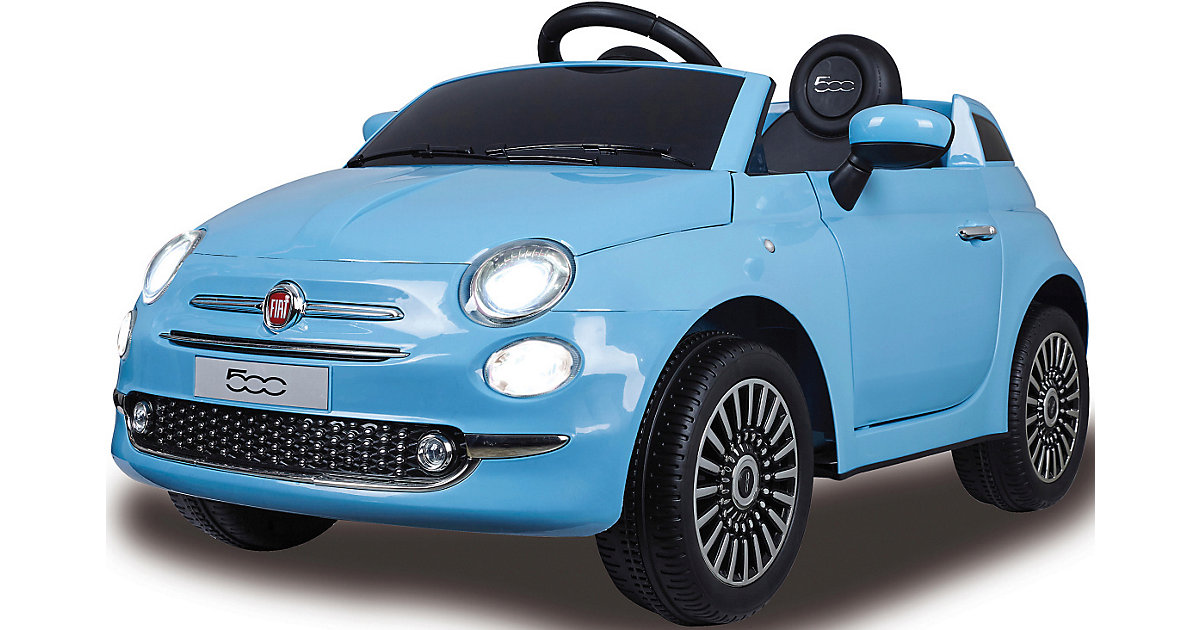 Ride-on Fiat 500 blau 12V von Jamara