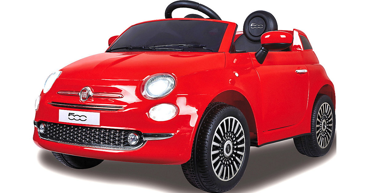 Ride-on Fiat 500 rot 12V von Jamara