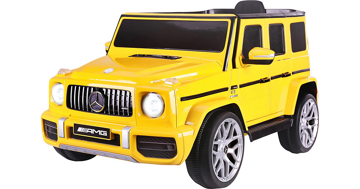 Ride-on Mercedes-Benz AMG G 63 gelb von Jamara