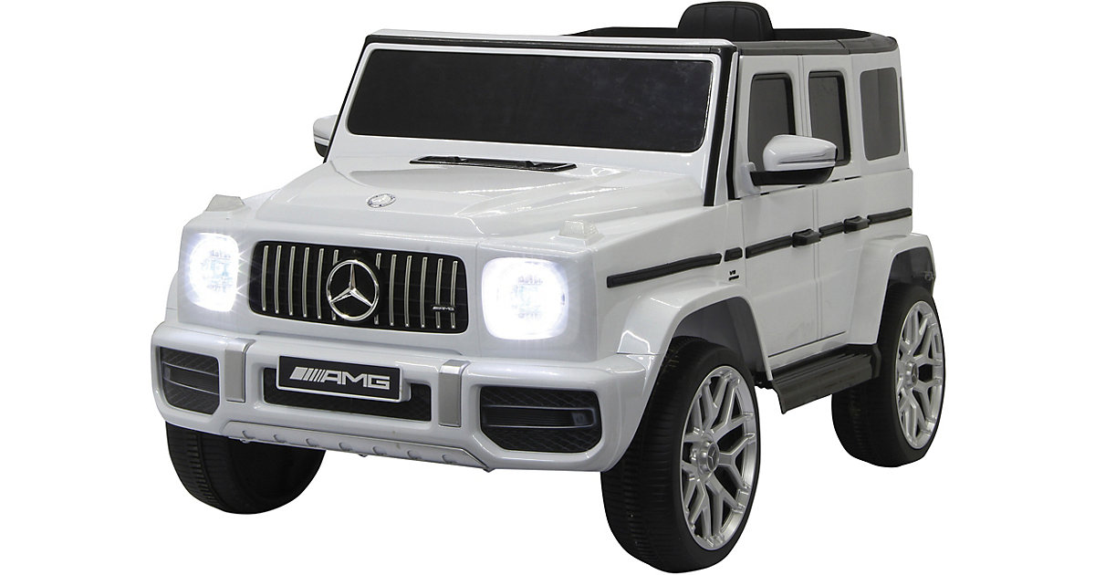 Ride-on Mercedes-Benz AMG G 63 weiß von Jamara