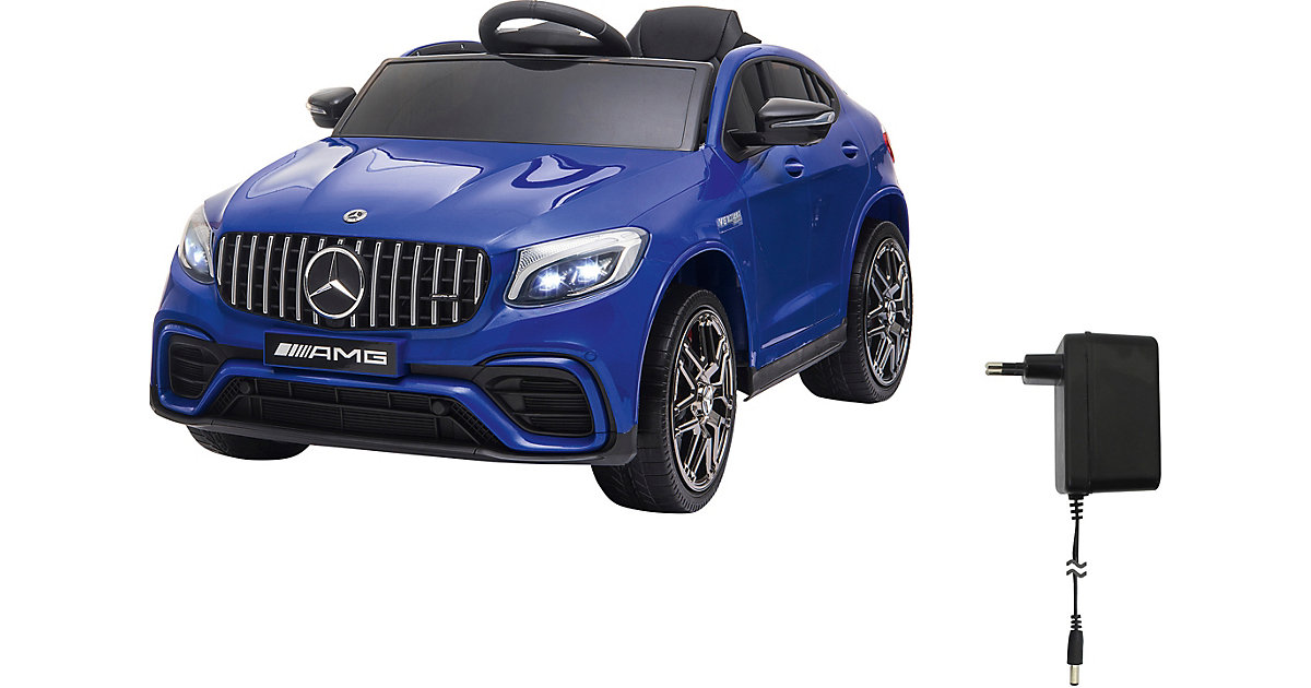Ride-on Mercedes-Benz AMG GLC 63 S Coupé blau von Jamara