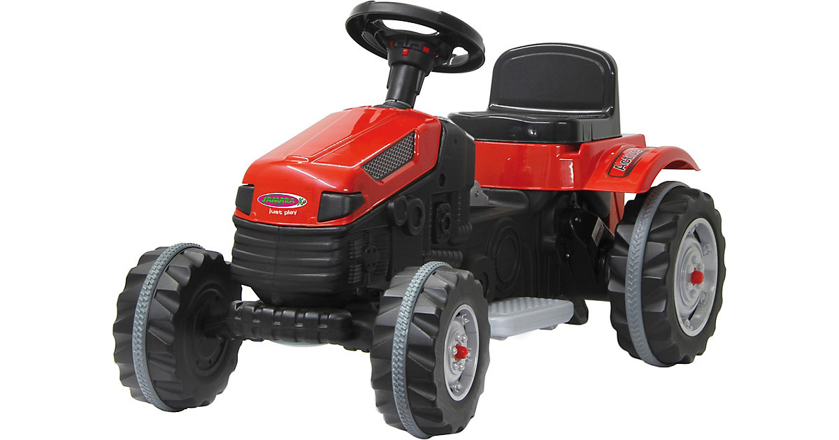 Ride-on Traktor 6V Strong Bull rot von Jamara