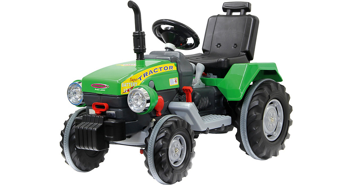 Ride-on Traktor Power Drag 12V grün von Jamara