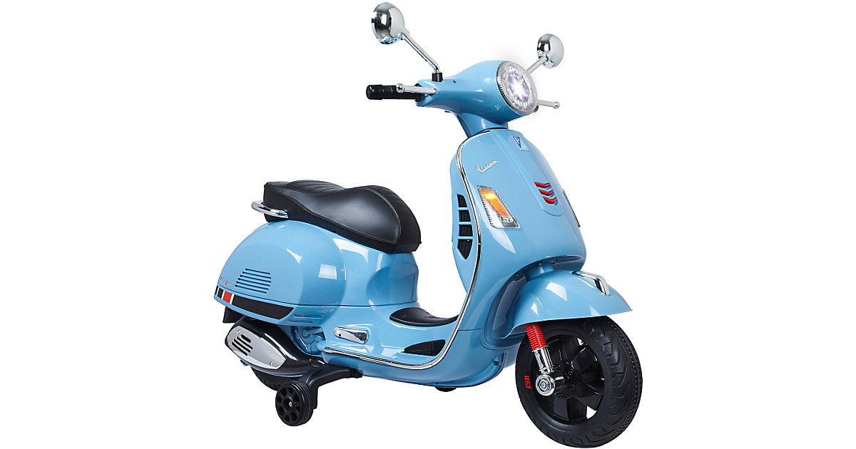 Ride-on Vespa 12V, blau von Jamara