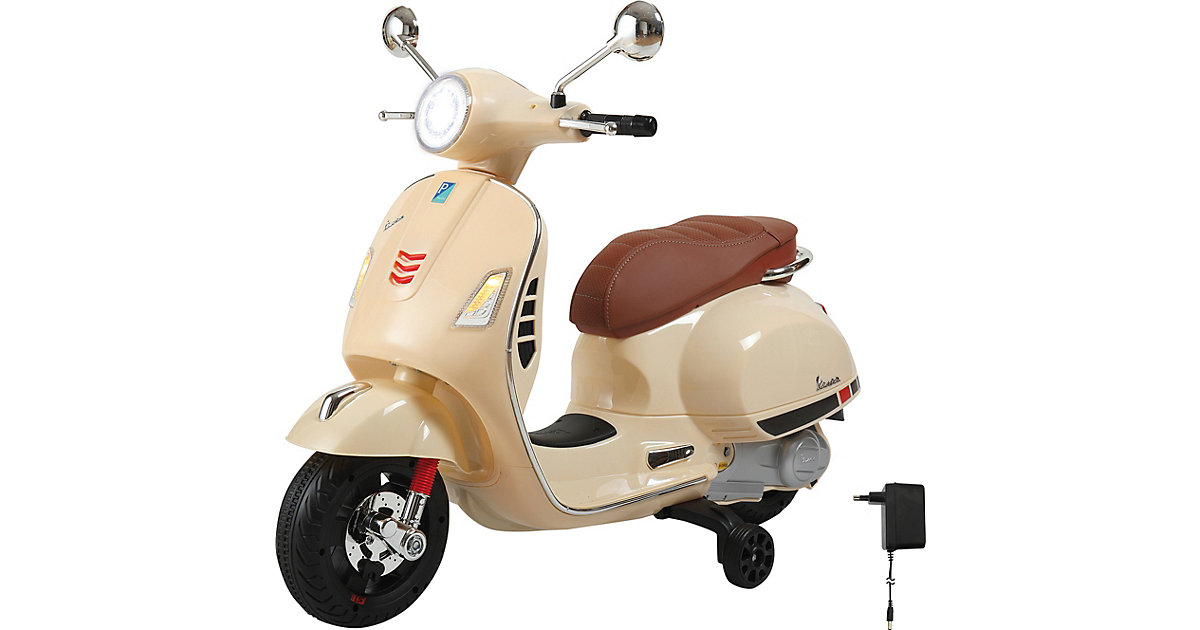 Ride-on Vespa GTS 125 12V beige von Jamara