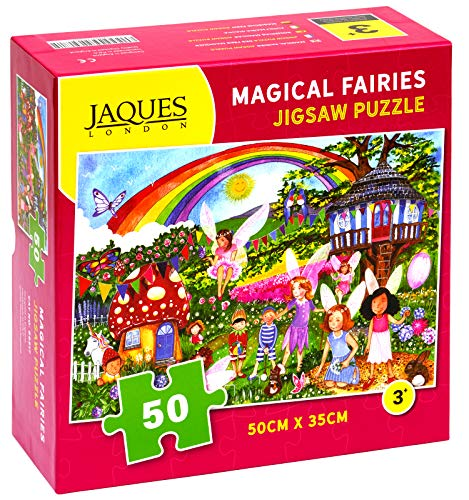 Jaques of London Magische Feen Puzzle 50 Teile ... von Jaques of London