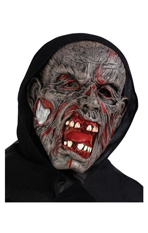Rotten Zombie Maske  Zombie Mask Horror Outfit von Karneval Universe