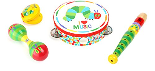 Kids Preferred 10395 - Raupe Nimmersatt Musik Set von Kids Preferred