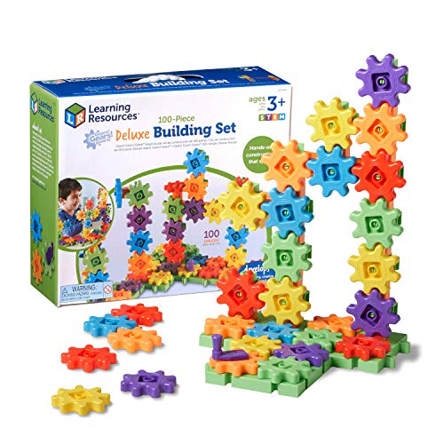 Learning Resources Gears! Gears! Gears! Bauset für Anfänger, von Learning Resources