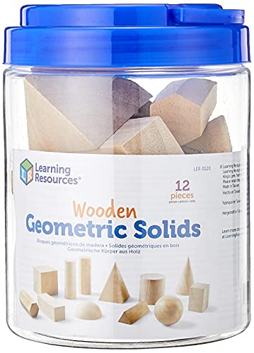 Learning Resources Geometrische Körper aus Holz, von Learning Resources