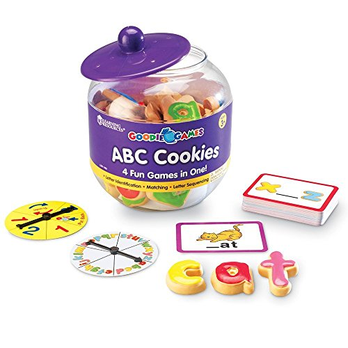 Learning Resources Goodie Spiele ABC-Plätzchen von Learning Resources