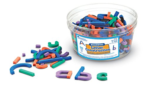 Learning Resources Magnetisches Buchstabenbauset, von Learning Resources