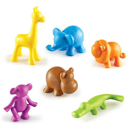 Learning Resources Wild About Animals Spielfiguren  Dschungeltiere (72 Stück), von Learning Resources