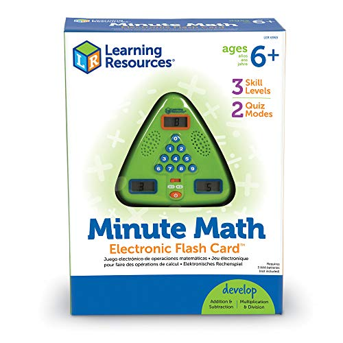 """Learning Resources Minute Math Elektronisches MatheSpiel,"" von Learning Resources"
