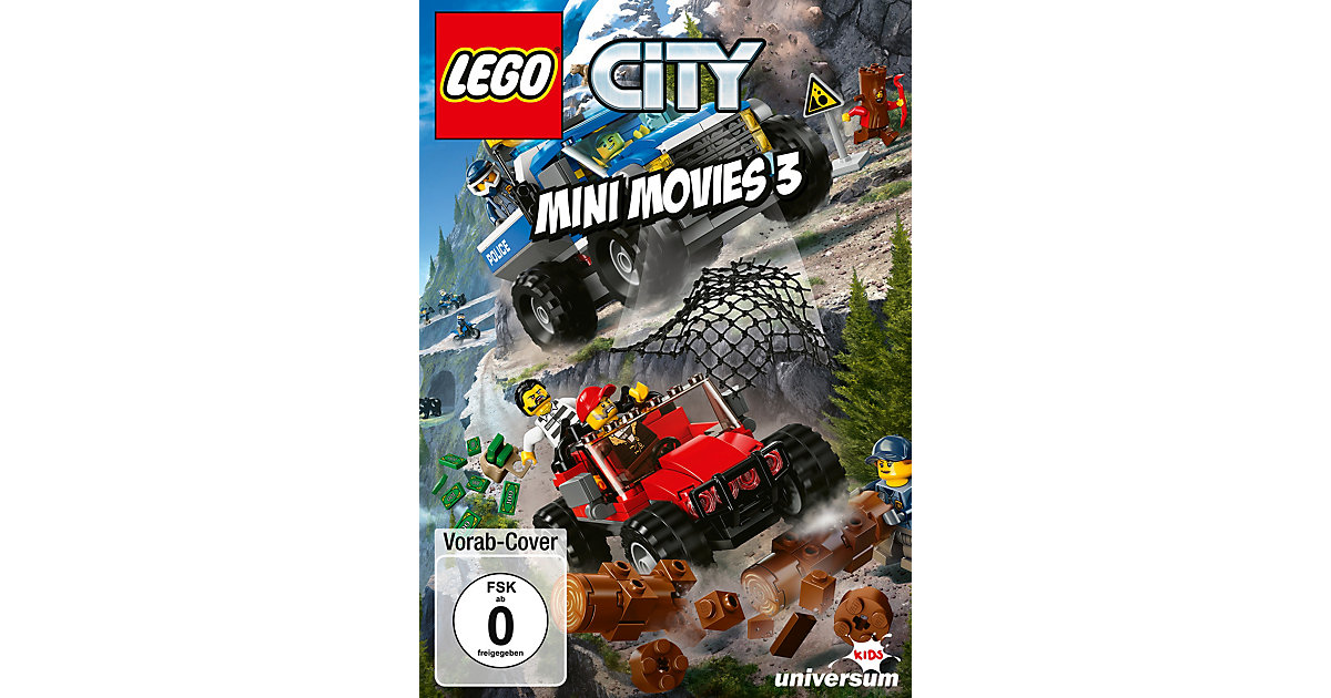 DVD LEGO City Mini Movies 3 Hörbuch von Lego