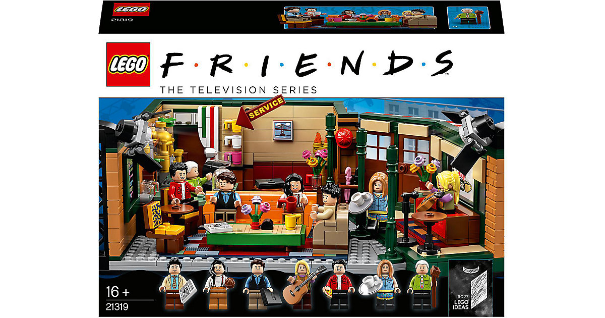 LEGO 21319 Ideas: FRIENDS Central Perk von Lego