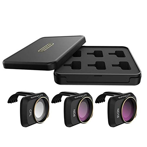 Lifeyz Dauerhaft Objektivfilter Kits für DJI Mavic Mini MCUV ND4 ND8 ND16 ND32 CPL ND / PL Kamera-Filter-Drone-FORMAGES for Mavic Mini-Zubehör Quadcopters Zubehör (Farbe: 6Pcs) UAV-Teile von Lifeyz