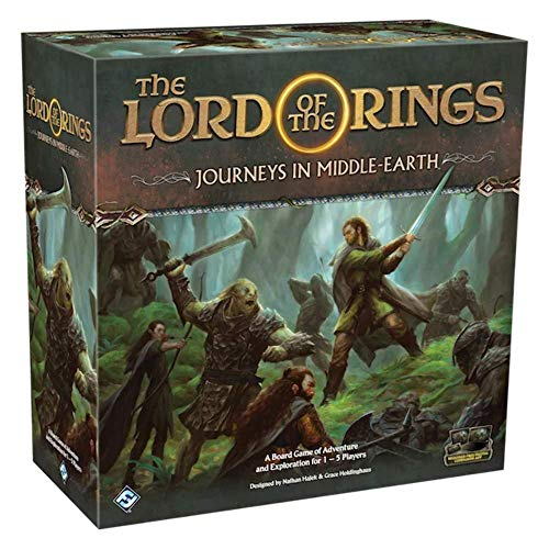 Flight Games FFGJME01 The Lord of the Rings: Journeys in Middle-Earth, Brettspiel - Englische Edition von Fantasy Flight Games