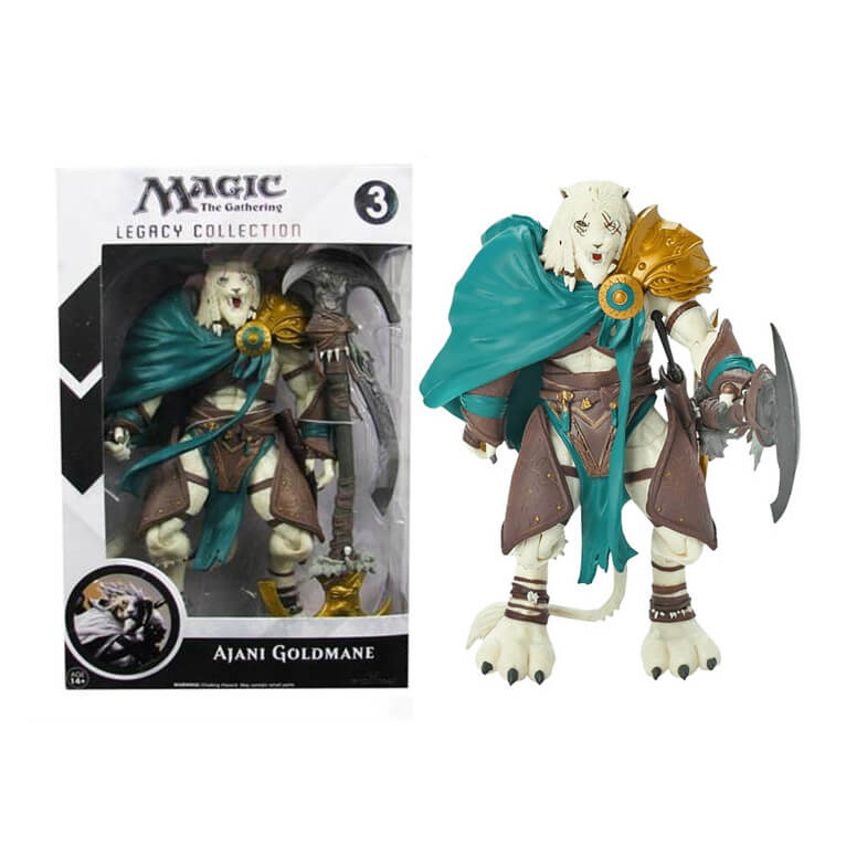 Magic The Gathering Ajani Goldmane Legacy Action Figure von Magic The Gathering