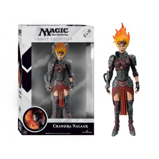 Magic The Gathering Chandra Nalaar Legacy Action Figure von Magic The Gathering